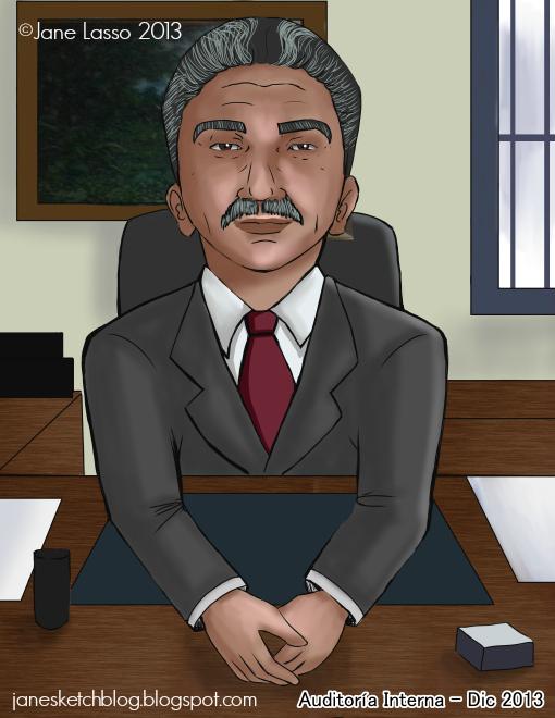 Caricatura por encargo de oficina