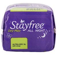 Buy Online Stayfree Dry Max All Nights 28 Count at Rs 240 only