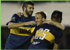 Fuenzalida convence en Boca y ahora será titular en el tridente ofensivo para la Sudamericana