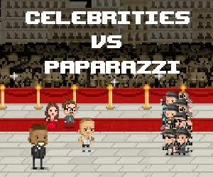 Fight the paparazzi in this addictive game!