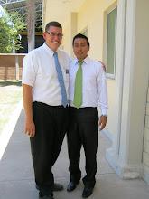Elder Larkin & Elder Reyes