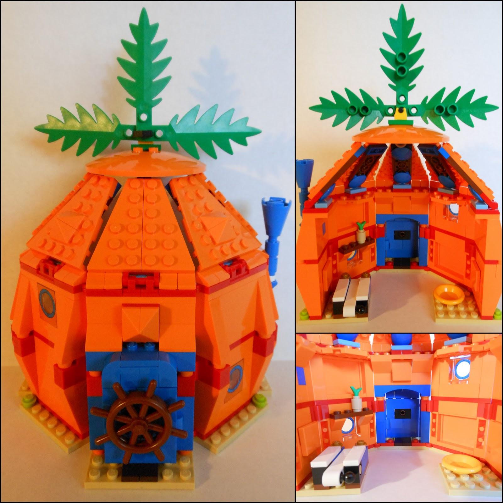 Lego Spongebob House Inside Views of spongebob s houseReal Spongebob House