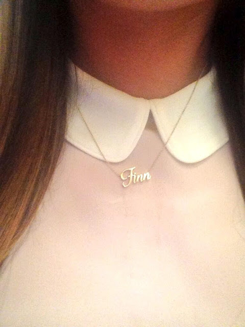 Lea Michele Finn necklace