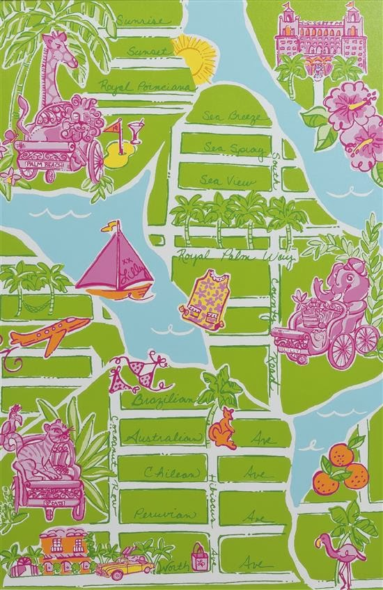 Lilly Pulitzer Palm Beach Coral