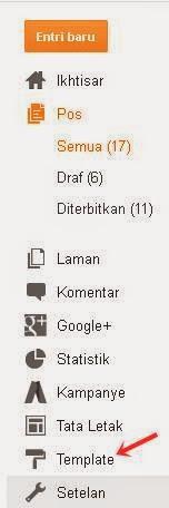 cara menghapus widget blog