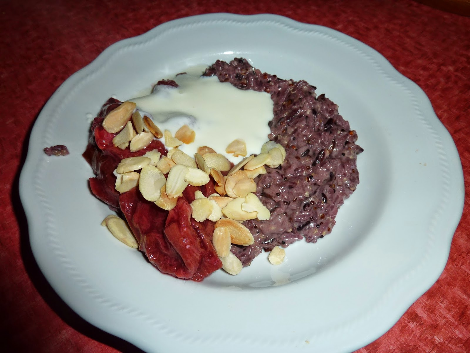 how to cook purple sticky rice