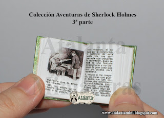 The Adventure of the Engineer's Thumb miniature book Sherlock Holmes