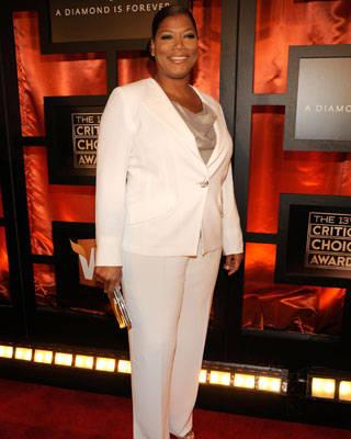 Queen Latifah at the Critics' Choice Awards