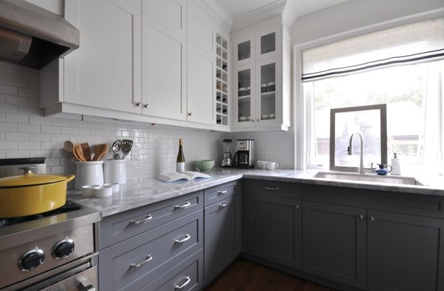 The Story of Home Two tone Kitchen Cabinets