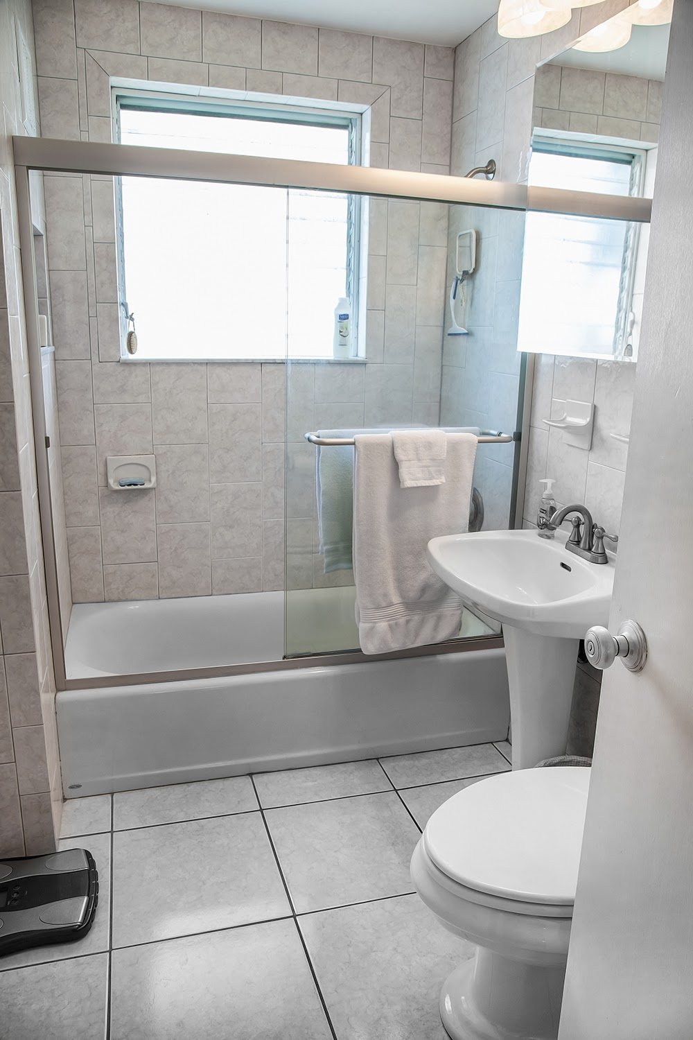 Bath has been recently renovated at 1407 White Street