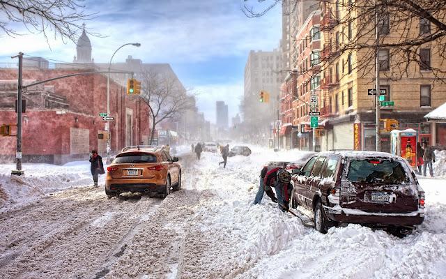 Imagenes Nieve en New York