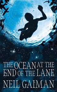 Portaba británica de The Ocean at the End of the Lane, de Neil Gaiman