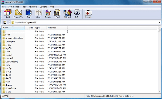 winrar-latest-screenshot
