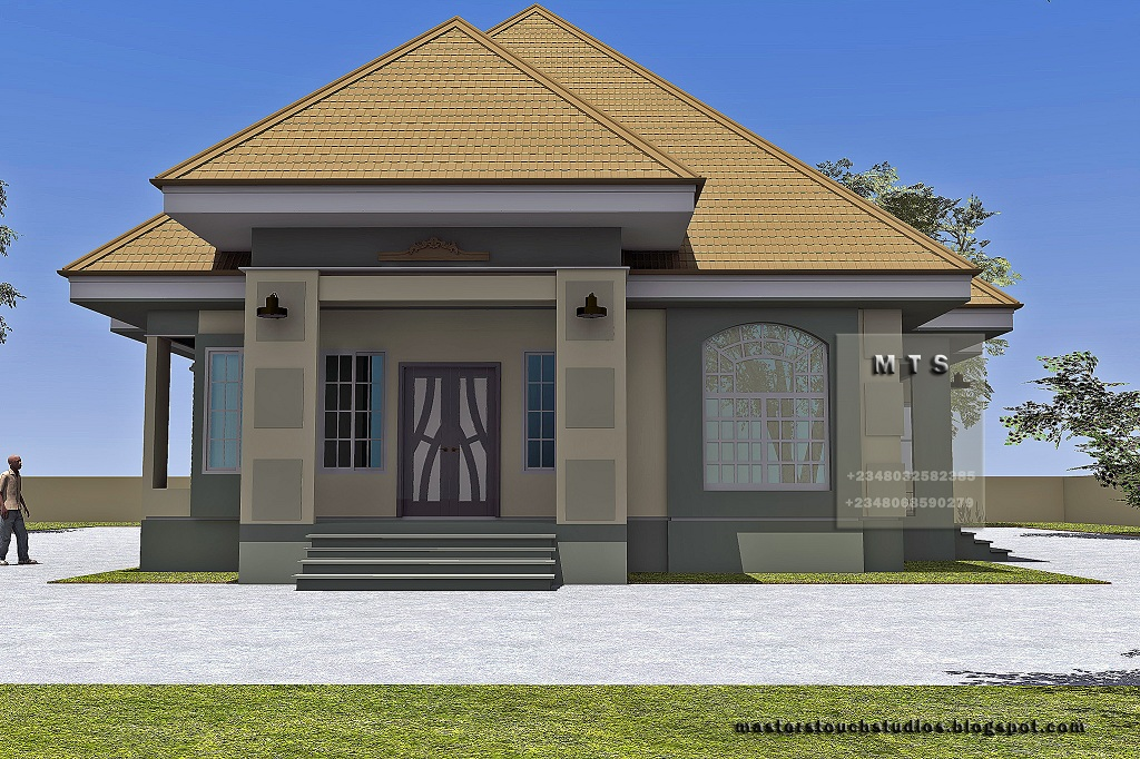 4 bedroom bungalow residential homes and public designs for 5 bedroom bungalow house designs