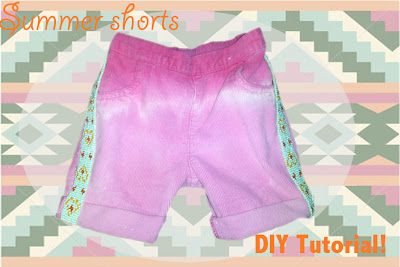 Summer Shorts DIY