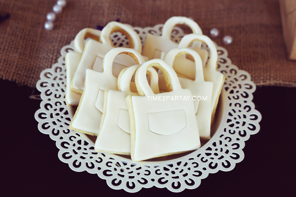 Chanel Inspired {Rustic Chic} Birthday Party | Time2Partay.com