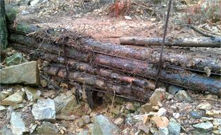 Diques de madera. Recuperación ambiental de espacios degradados. hikergoer