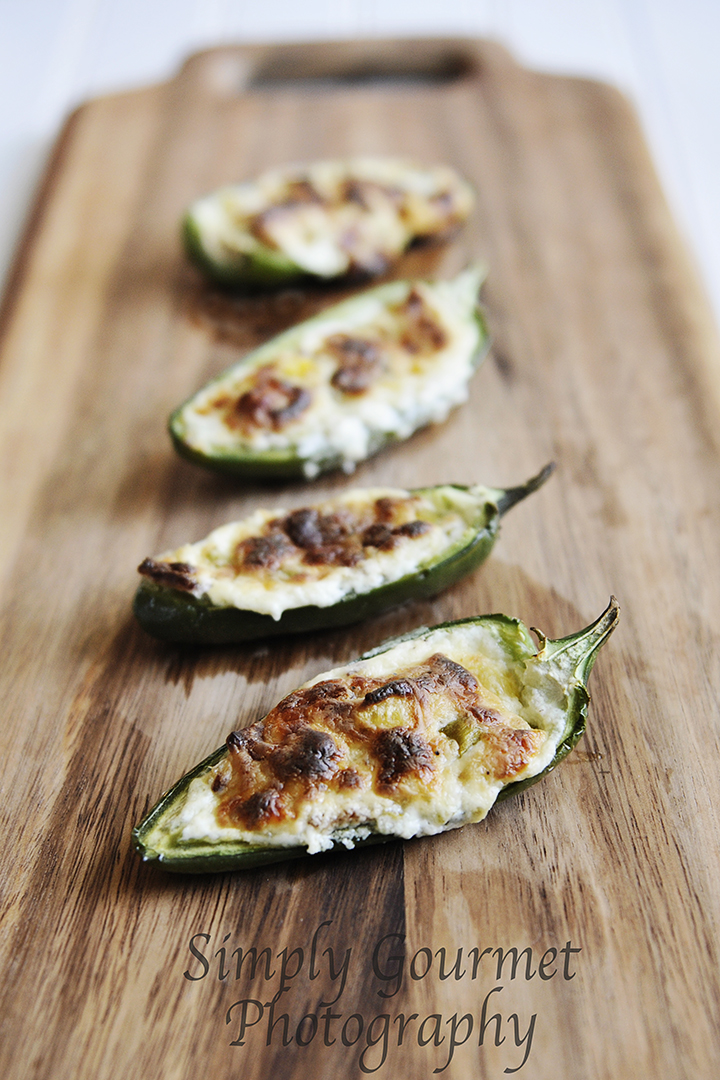 Simply Gourmet: Jalapeno Poppers with Pineapple