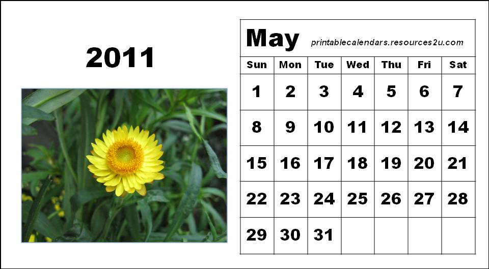 may 2011 calendar images. May 2011 calendar page