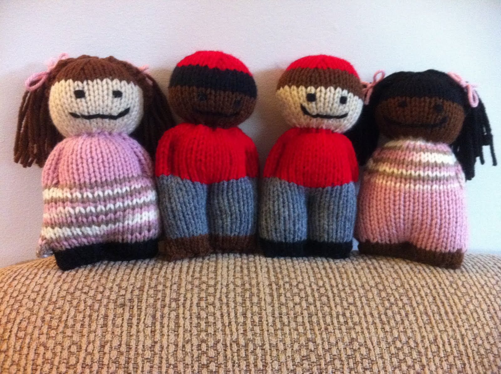 Jenns Yarn Addiction: Comfort Dolls