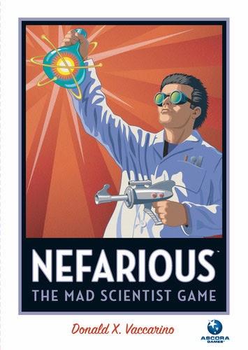 Настольная игра Nefarious, boardgame