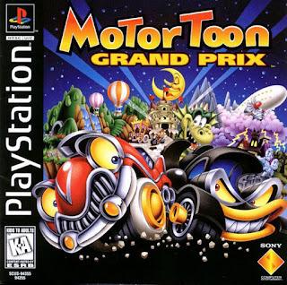 Link Motor Toon Grand Prix ps1 ISO Clubbit