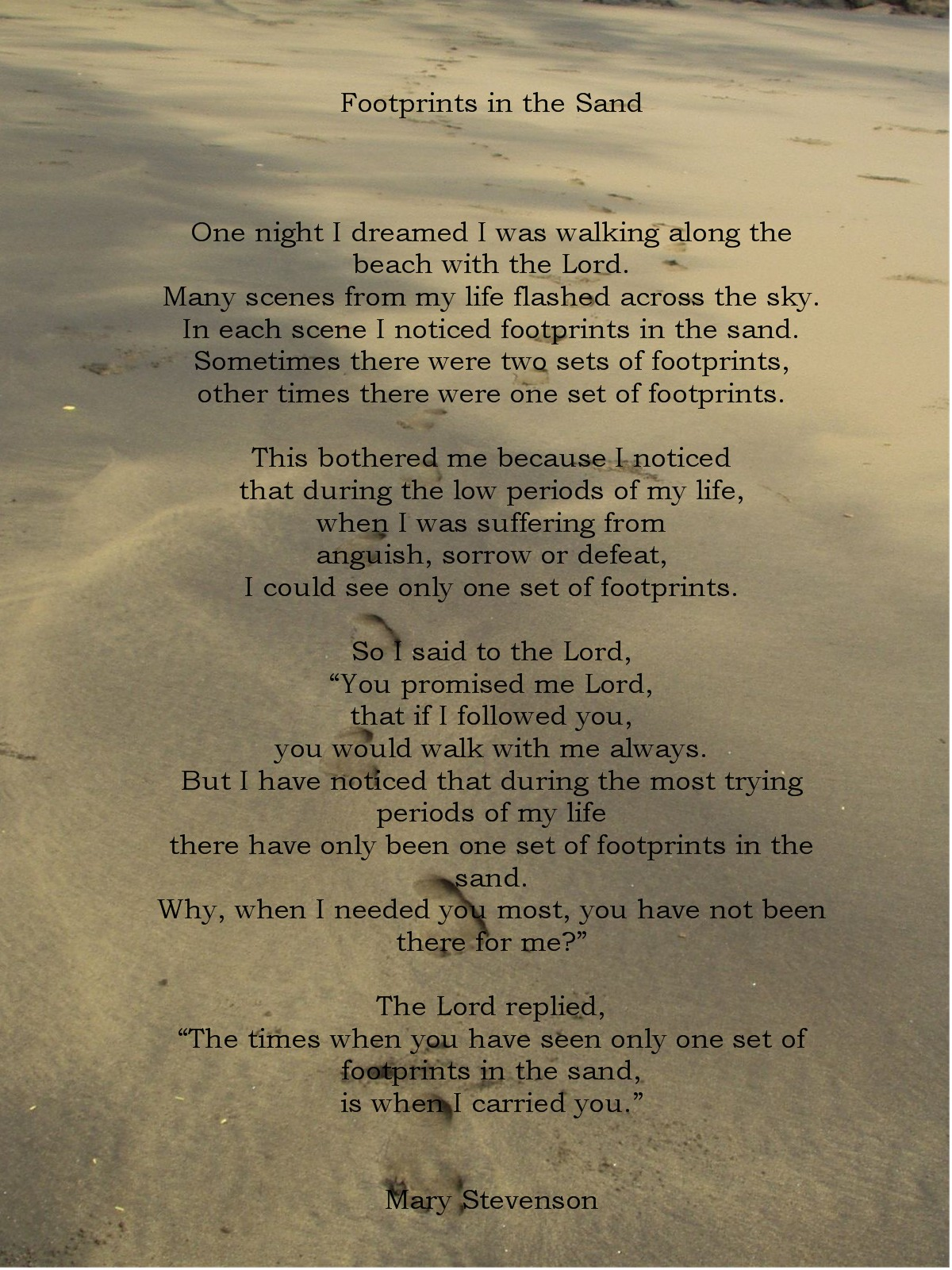 http://3.bp.blogspot.com/-x6p734CnSCs/TyarSTqNsyI/AAAAAAAAA60/uvjSwPEe3hs/s1600/footprints-in-the-sand1.jpg