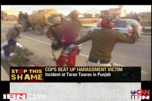 National news, 23-year-old, Jasleen Kaur, Harassed, Truck driver, Returning, Wedding party, Taran Taran, Policemen, Punjab, Hitting, Girl