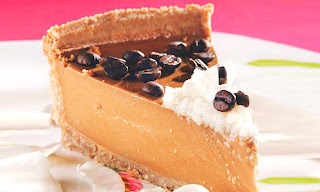 Cheesecake de café e coco light