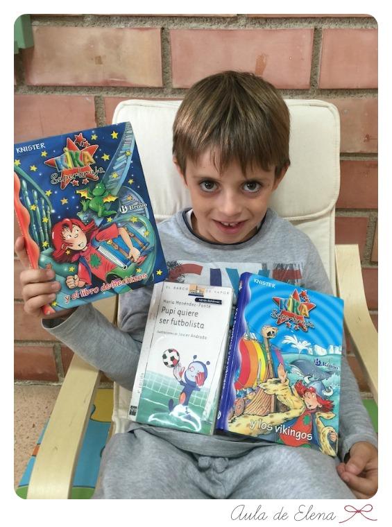 Libros de la biblioteca de aula - Aula de Elena