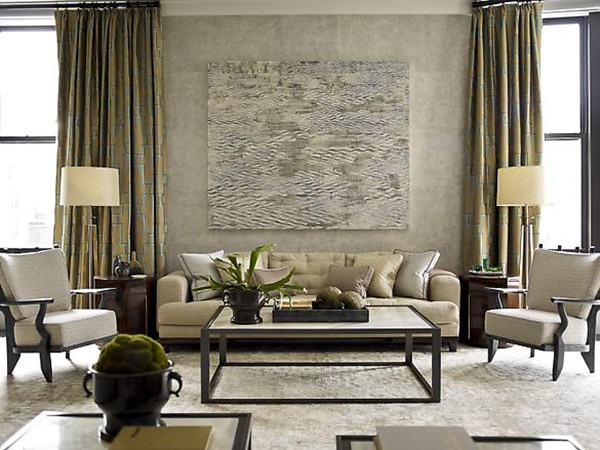 Home interior design and interior nuance living room decorating ideas according to the book - Silver living room designs ...