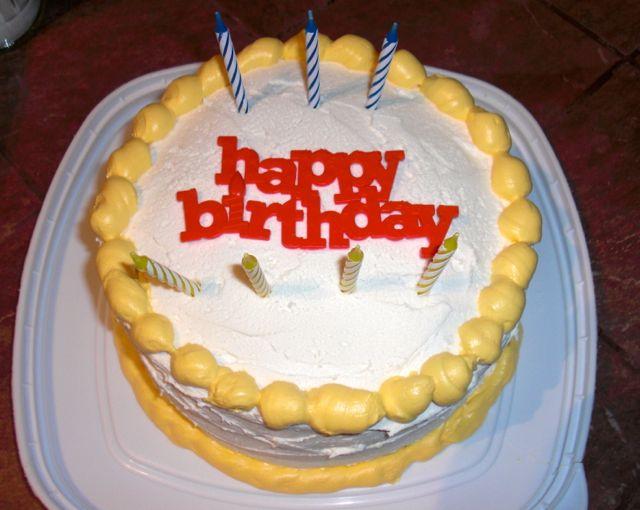 Rainbow Birthday Cake Foodpicfriday My Adorable Small Town Life