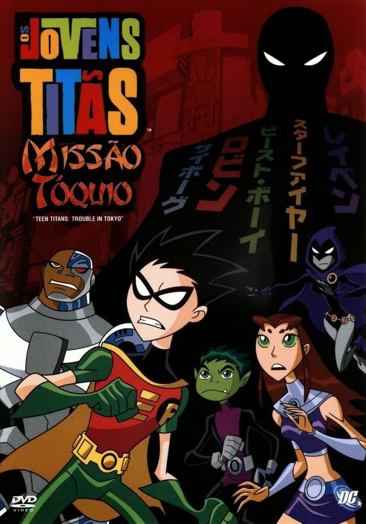 Os Jovens titãs: Missão Toquio – Dublado (2006)