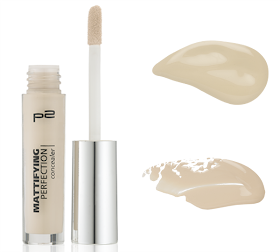 p2 mattifying perfection concealer