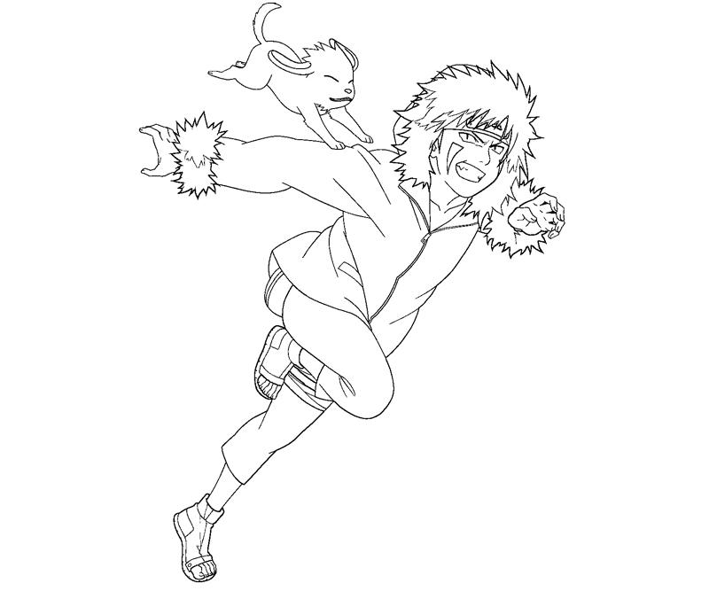kiba coloring pages - photo#6
