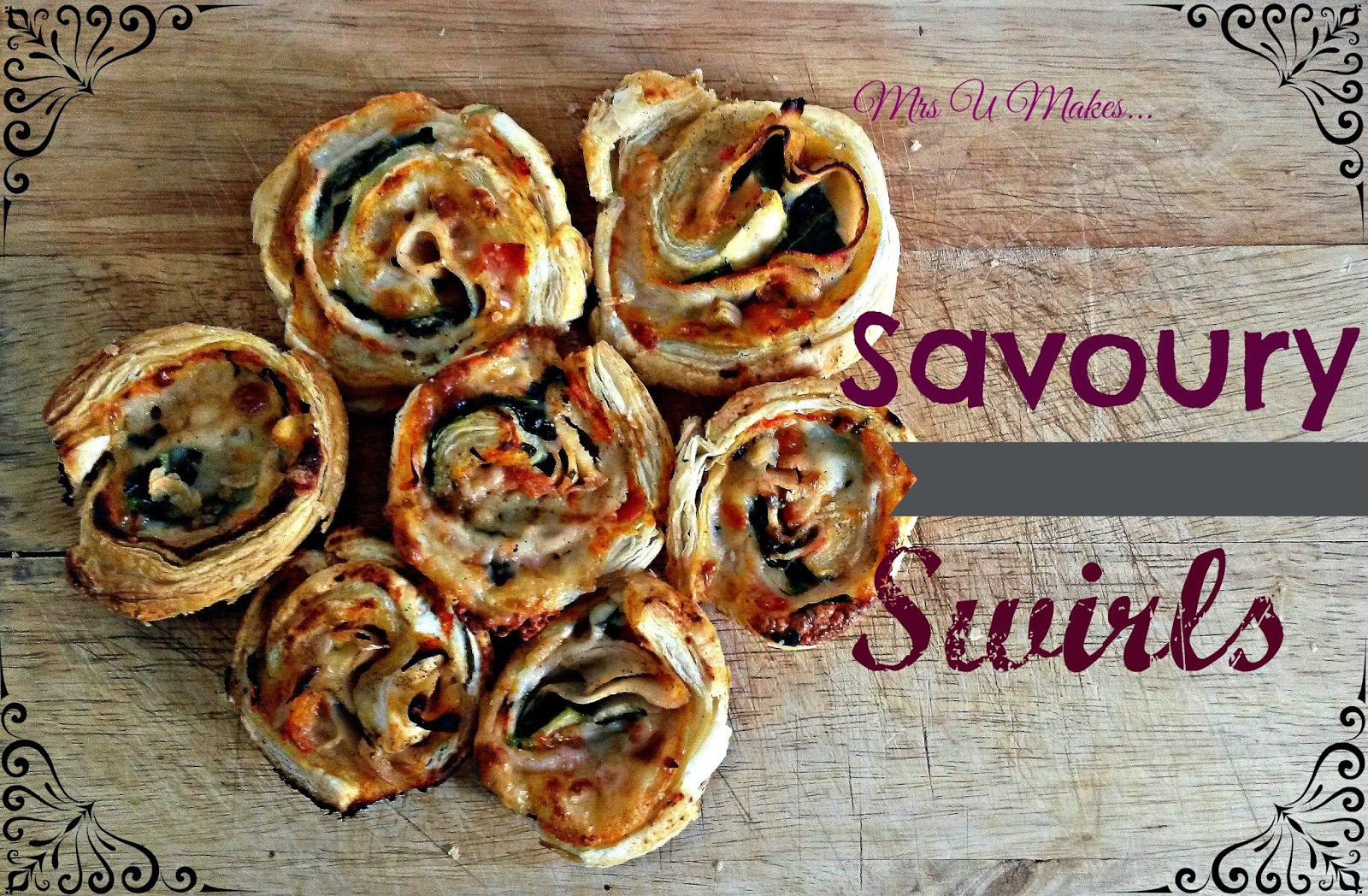 Mrs U Makes... Savoury Swirls