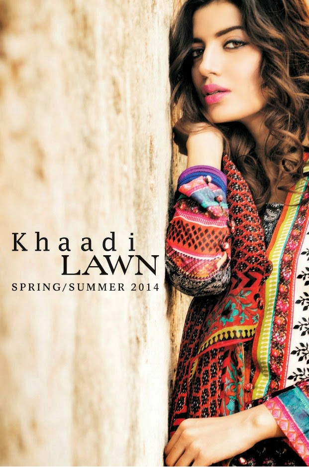 Khaadi Summer Collection 2014 Catalogue Khaadi Lawn Spring/summer 2014