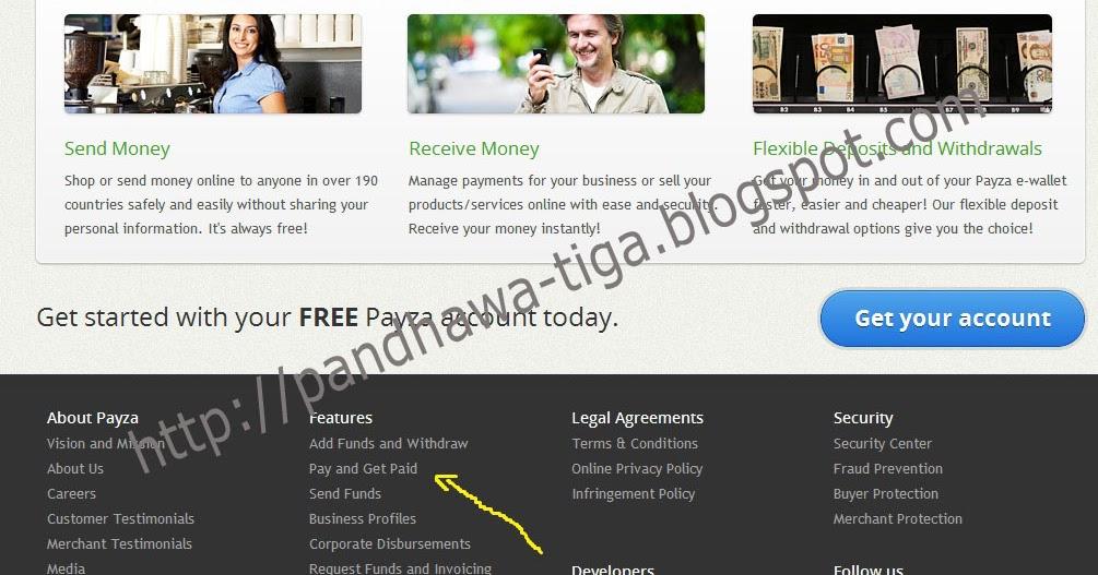 Cara Mendapatkan Kartu Kredit Gratis dari Payza.com