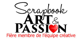 logo Scrapbook Art Passion
