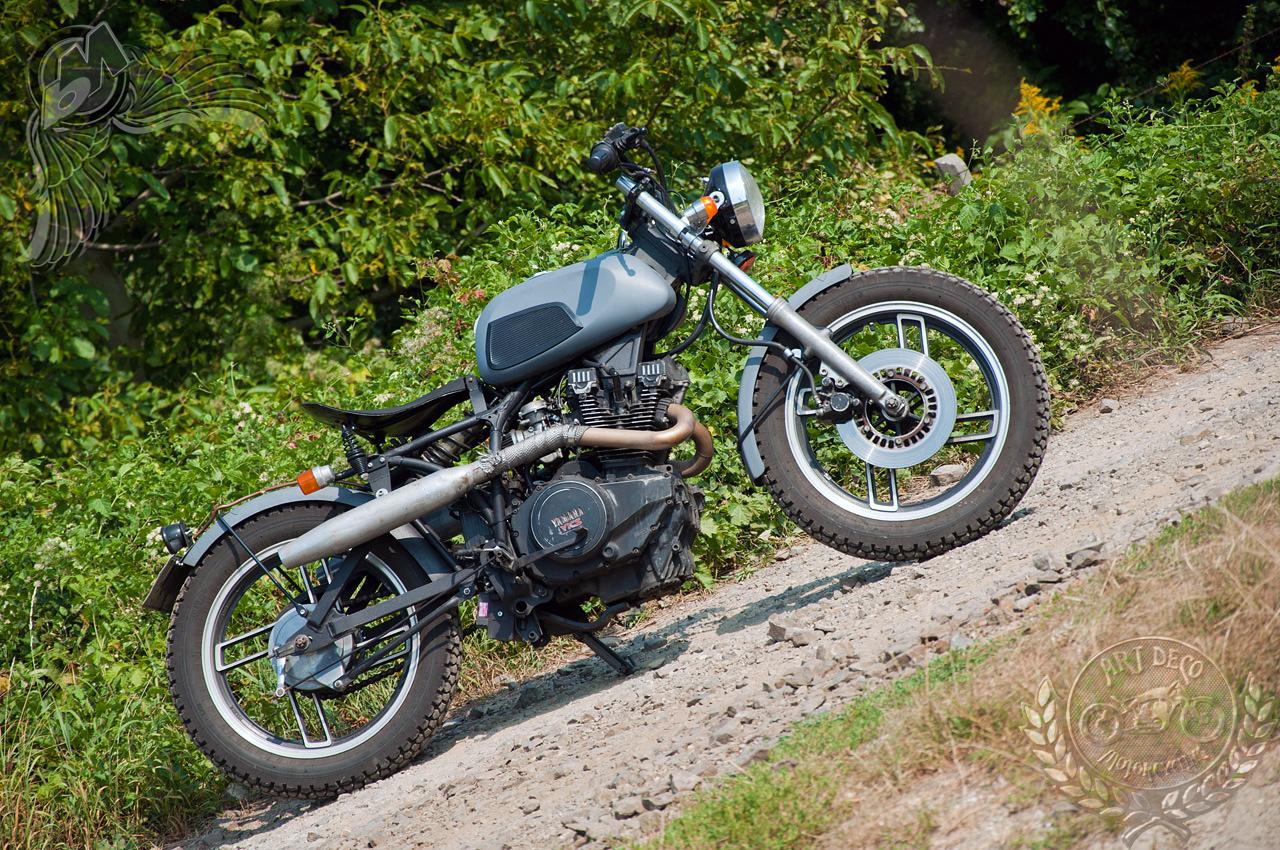 Arpads Raw Yamaha Xs400 Tracker