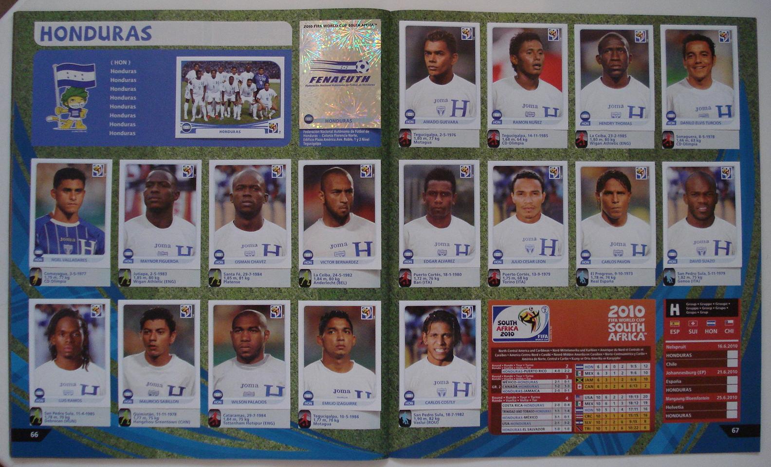 PANINI 533 Kanga akale Costa d/'Avorio FIFA World Cup 2010 Sudafrica