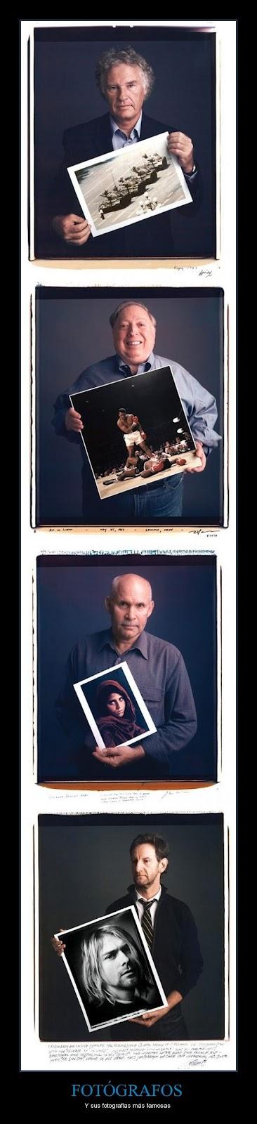Fotografos y sus fotografias