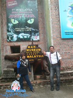 Entri Bergambar : Muzium Perang, Batu Maung, Pulau Pinang.