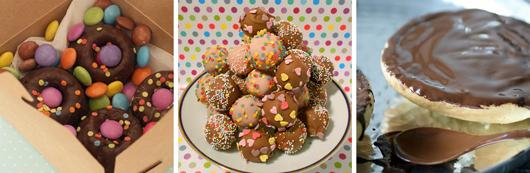 Rezepte für den Kindergeburtstag: Smartiekuchen, Konfetti Cake Pops, Amerikaner
