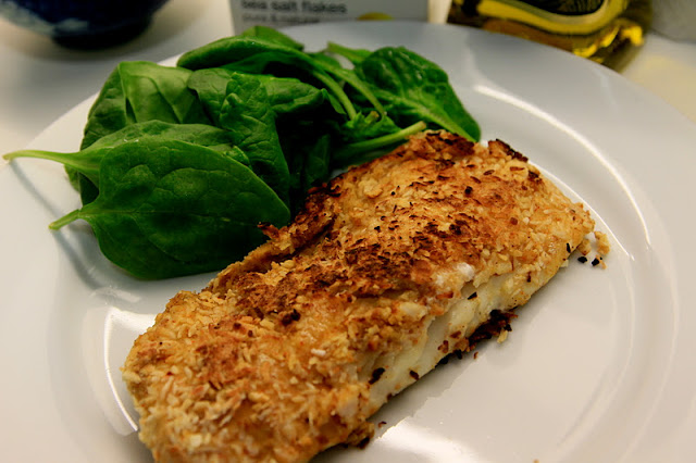 Cafe Creatures: Coconut Crusted Fish Fillet
