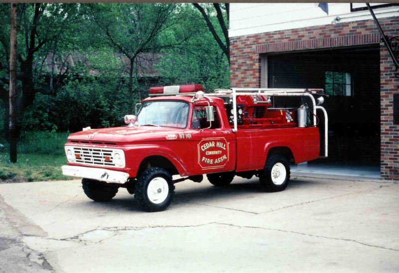 1964+Ford+F 250+Fire+Truck ford f 100 through f 750 trucks 1964 exterior lighting, turn ford f750 fuse box at sewacar.co