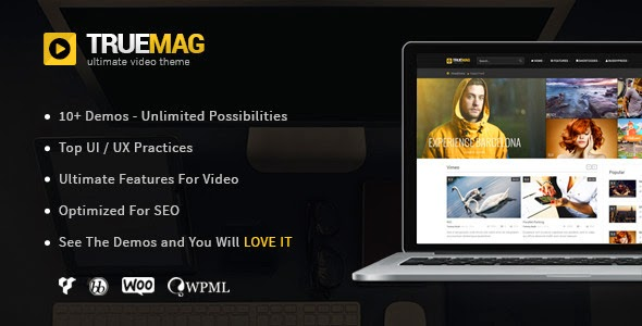 True Mag v3.1.2 - Wordpress Theme for Video and Magazine Free