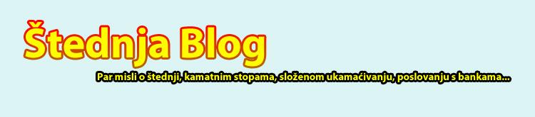 Štednja blog