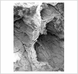 scarred, rock formation photos, craggy rock art, laura hol art, sharp rock photos