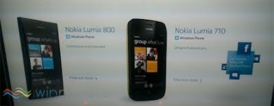 Nokia Lumia 710 and 800 with Mango